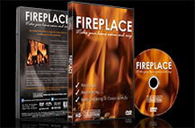 Fireplace 2015 Long Wood Fires with Burning and Crackling WoodSounds - With Free HD Download