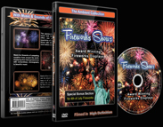 Fireworks Shows DVD - With Music and Pyrotechnic Sounds