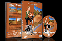 Virtual Cycle Outback Australia - Ride in Red Desert Landscapes See Kangaroos all with Nature Sounds