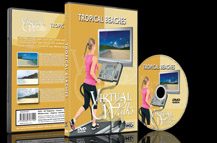 Virtuele Wandelingen – DVD voor indoor cardio fitness -