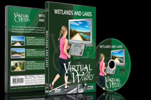 Virtuele Wandelingen – DVD voor indoor cardio fitness - Wetlands & Meren